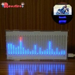 DIY Licht Cube Kit AS1424 Musik Spektrum Led-anzeige Audio Verstärker Änderung Rhythmus Lampe-Groß Teile Weiß