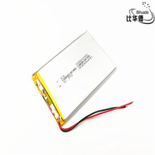 купить 3.7V,3000mAH 356090 (polymer lithium ion battery) Li-ion battery for tablet pc 7 inch 8 inch по цене 422.7 рублей