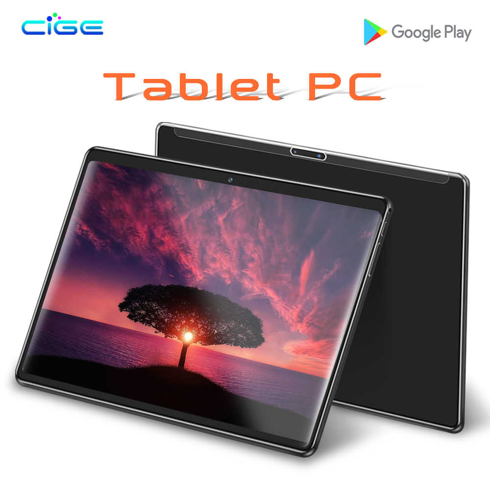 Capitaine 10.1 pouces Android 8.1 HD tablette par Azpen Quad Core double caméras Bluetooth Google certifié Play Store