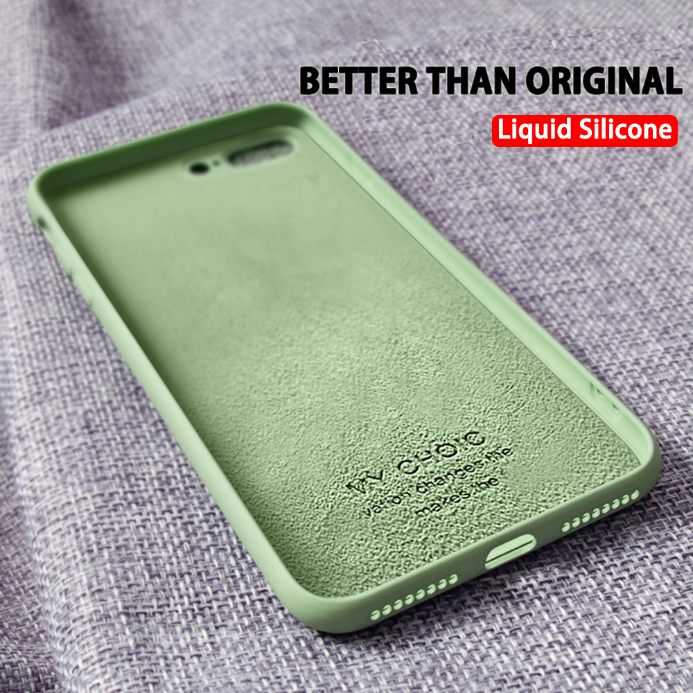<font><b>Original</b></font> Silicone Liquid Phone Cover For <font><b>iPhone</b></font> 4 4S 5S SE <font><b>Case</b></font> For Apple <font><b>iPhone</b></font> X XR 11 Pro XS Max 8 7 <font><b>6S</b></font> 6 Plus Soft TPU <font><b>Cases</b></font> image