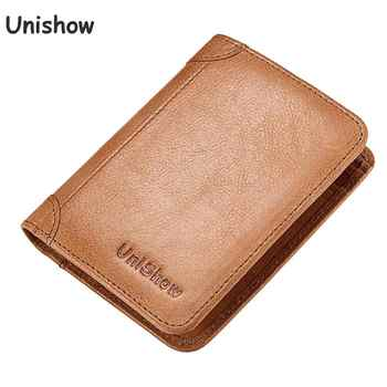Luxury Leather Women Wallet 2020 Small Women Purse Multifunction Cow Leather Female Wallet Short Brand Genuine Leather Purse - Category 🛒 Luggage & Bags