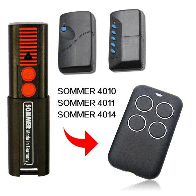 SOMMER 4010 4011 4014 รีโมทคอนโทรลสำเนา SOMMER 4014 4010 4011 ประตู 433 MHz 868 MHz ควบคุม