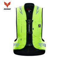 DUHAN Motorcycle Jacket Air bag Vest Motorcycle Vest Air Bag System Protective Gear Reflective Motorbike Airbag Moto Vest NEW