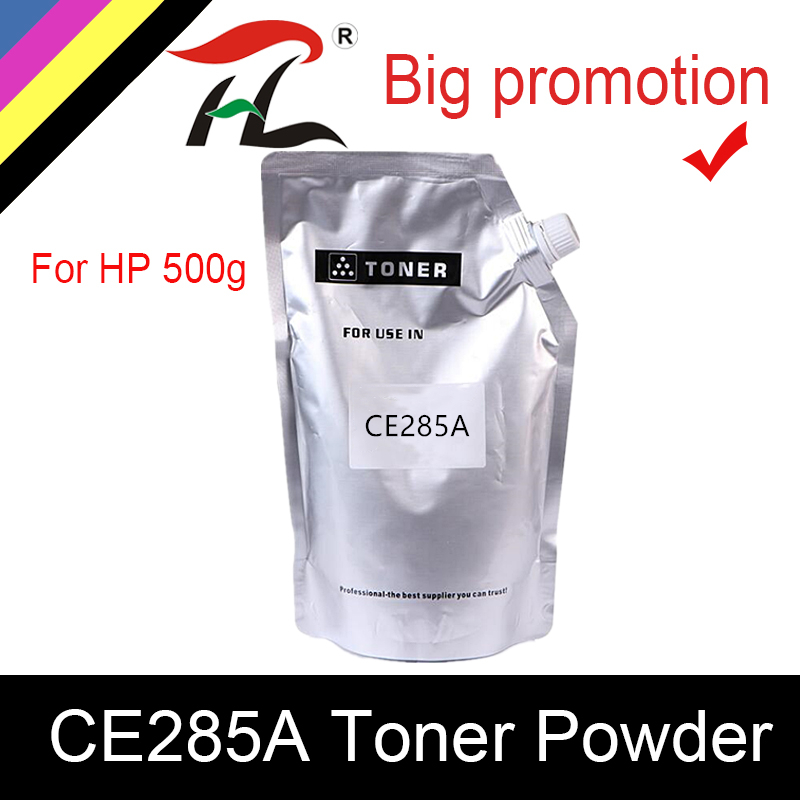 HTL Compatible 500G Refill Toner Powder For HP Ce285a CE285A 285 LaserJet Pro P1102/M1130/M1132/M1210/M1212nf/M1214nfh/M1217nfw