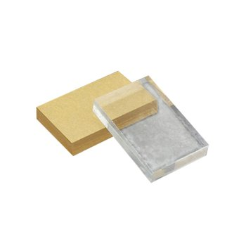 цена на Lightweight Transparent Acrylic Stamp Block Rectangular Shape DIY Scrapbooking Color Process Stamp Block Tools