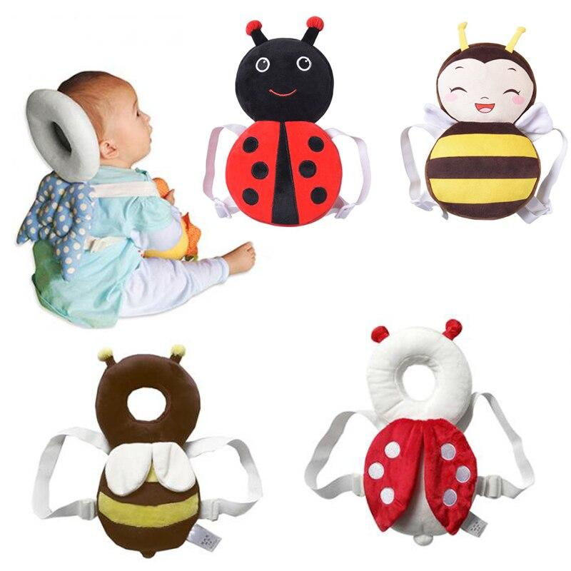 Neue Marke Nette Baby, Kleinkind Kleinkind Neugeborenen Kopf Zurück Schutz Safety Pad Harness Kopfbedeckungen Cartoon Baby Kopf Schutz Pad
