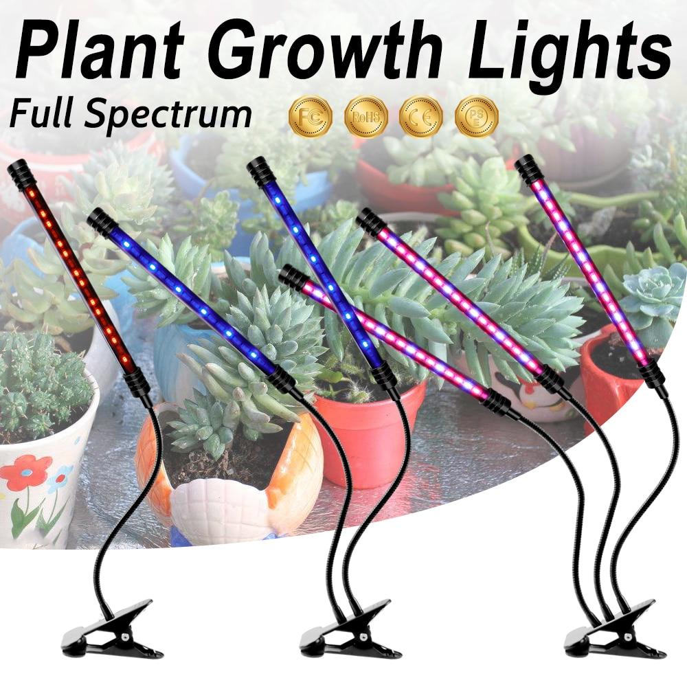 LED Grow Light 5V USB Cultivo Indoor LED Full Spectrum Phyto Lamp LED Phyto-Lamp For Greenhouse Vegetable Flower Plant Tent Box