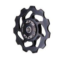 ZTTO 11T MTB Bicycle Rear Derailleur Jockey Wheel Ceramic bearing Pulley AL7075 CNC Road Bike Guide Roller Idler 4mm 5mm 6mm цена 2017