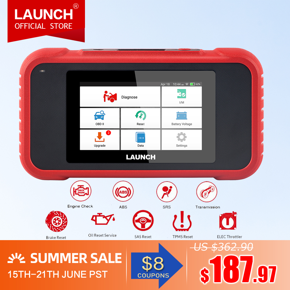 Launch X431 CRP129E OBD2 diagnostic tool for ENG/AT/ABS/SRS Multi language free update CRP123E CRP129 CRP123 Creader VIIIobdii diagnostic toolcreader viiicrp 129 -