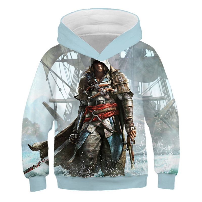 Assassins Creed Syndicate Inspired Boys Girls Womens Kids Mens Funny T Shirt