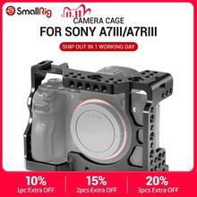 سمولتلاعب A73 قفص A7R3 / A7RIII / A7III هيكل قفصي الشكل للكاميرا لسوني A7R III / A7M3/ A7 III ث/أري تحديد/4/1 8/3 المواضيع ثقب 2087