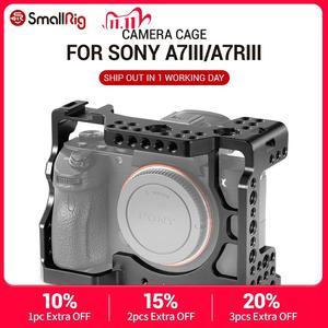 Image 1 - SmallRig A73 Cage A7R3 / A7RIII / A7III Camera Cage for Sony A7R III / A7M3/ A7 III W/ Arri Locating / 4/1 8/3 Threads hole 2087