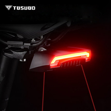 TOSUOD Bicycle taillights intelligent wireless control safety warning mountain bike night riding lights night riding equipment the number of displays with intelligent control electronics equipment work points counter