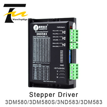 Leadshine 3Phase Stepper Motor Driver 3DM580 3DM580S 3ND583 3DM583 Match Motor 57 86