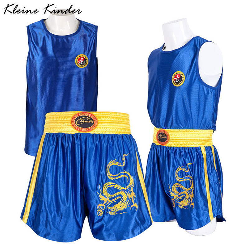 Купить костюм для бокса шорты и рубашки взрослых детей набор мужских