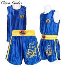 Костюм для бокса шорты и рубашки взрослых детей набор мужских