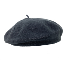 Bruceriver Women's Solid Color French Beret