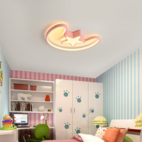 Modern Led Ceiling Lights remote control For Living Room baby bedroom cloud heart round shape lamparas de techo abajur colorful