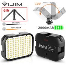 VIJIM VL100C 170° Adjustable LED Video Light With Tripod and 3 Cold Shoe Extend Camera Photography Lighting Vlog Fill Light Lamp