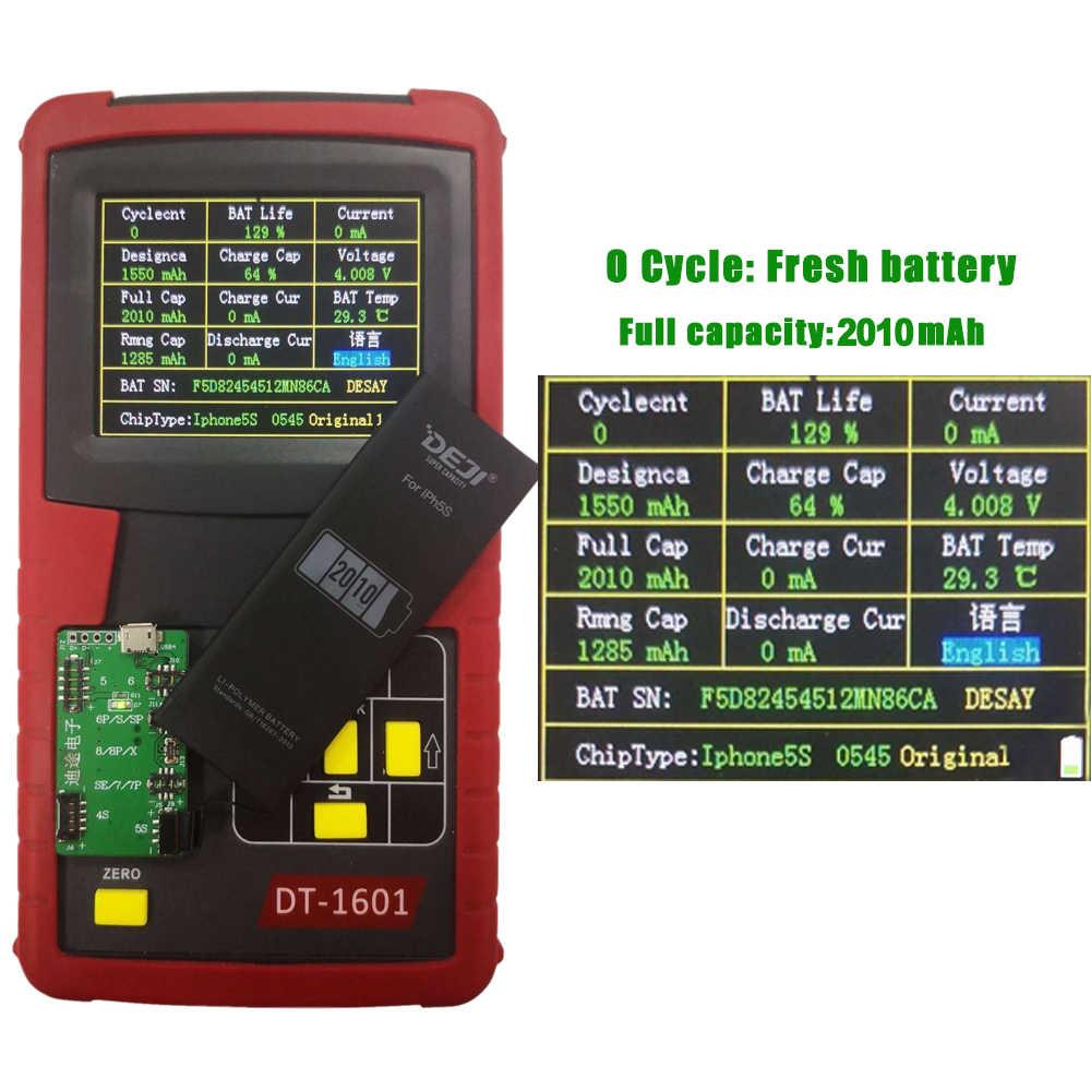 DEJI Voor iPhone 5 s 5 se batterij Originele Li-Polymer interne Batterij mobiele telefoon Hoge Capaciteit 2010mAh vervanging Batterijen