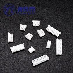 Sha 100 Uds PH 2,0 conector de pines de ángulo recto conector de 2mm a 2 P 3P 4P 5, P 6P 7P 8P 9P 10P 11P 12 Pin Header PH-AW
