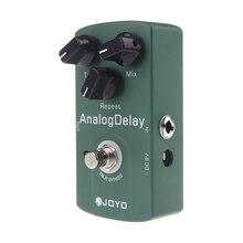 Joyo JF 33, аналоговая задержка, педаль для электрогитары, настоящий байпас, алюминиевый сплав, Высококачественная гитарная педаль, аксессуары для гитары