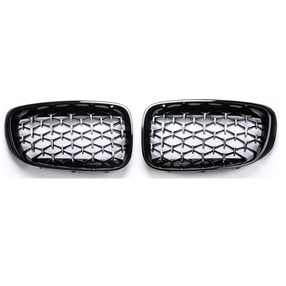 Image 3 - 3 Series GT F34 Diamond Racing Grills Front Kidney Grille Bumper 2013 2019-in Racing Grills from Automobiles & Motorcycles