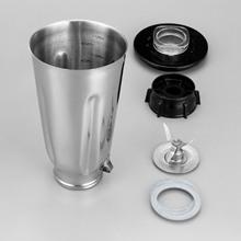 5 szklanki blender ze stali nierdzewnej zestaw słoików ukończyć 6 sztuka SS zestaw pasuje do obsługi Oster tanie tanio Blender Replacement Repair Kit Fits all Oster blenders and Kitchen Centers Stali stopowej Domu DIY