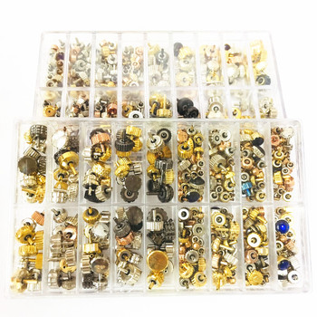 Wholesale New 1 Set Good Quality Watch Crown Watch Head Watch Parts For Wrist Watch Parts