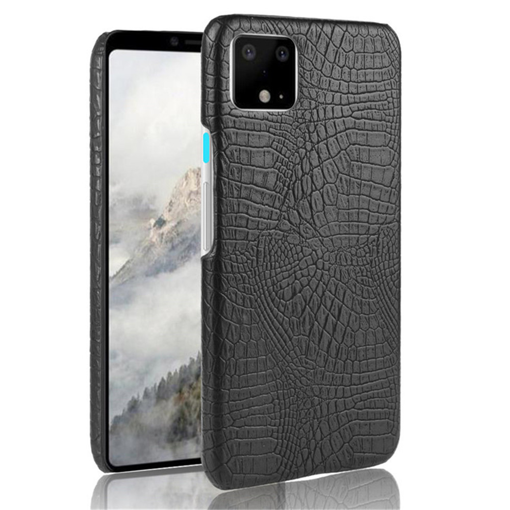 Luxury Crocodile Skin PU Leather Case For Google Pixel 4 3 3A XL Hard Shockproof Back Cover For Google Pixel 2 XL Phone Cases