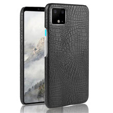 Luxury Crocodile Skin PU Leather Case For Google Pixel 4 3 3A XL Hard Shockproof Back Cover For Google Pixel 2 XL Phone Cases(China)