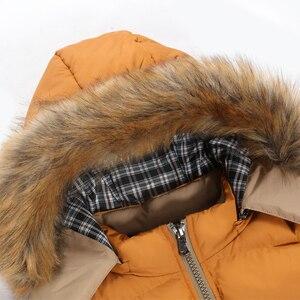 Image 5 - FALIZAฤดูหนาวใหม่แจ็คเก็ตผู้ชายหนาเสื้อคลุมParkaผู้ชายOutwear Coat Casual PatchworkเบาะMens PLUS 7XL MY20