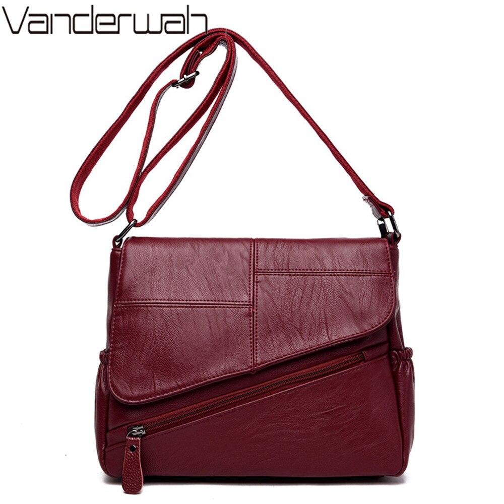 Messenger Bags For Women 2019 Feminina Bolsa Leather Luxury Handbags Women Bags Designer Ladies Shoulder Bag Sac A Main Femme