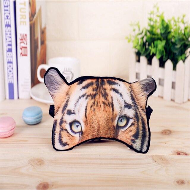 1 PC Cute Animal Shade Relax Nap Eye Cover Cartoon 3D Animal Dog Cat Sleep Eyeshade Eye Mask Eyepatch Blindfold for Travel 5