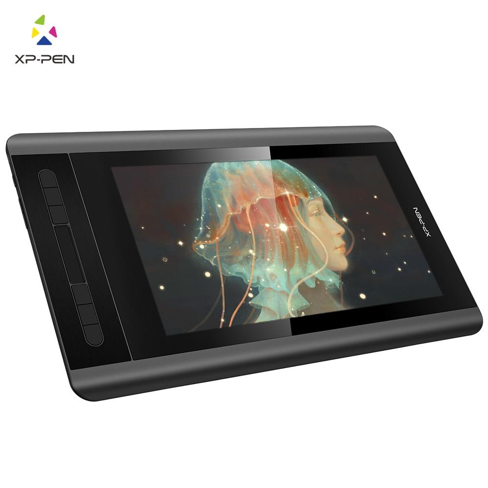 XP-Pen Artist 12 графический планшет графический монитор анимация цифровая 1920 X 1080HD IPS сочетания клавиш и сенсорная панель