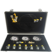 Portable Hydraulic Test Chart/ Hydraulic Gauge/ Hydraulic Test Box Suitable for Excavators, Loaders, Cranes