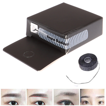 2m Mapping Pre-ink String For Microblading Eyebow Make Up Dyeing Liners Thread Semi Permanent Positioning Eyebrow Measuring Tool