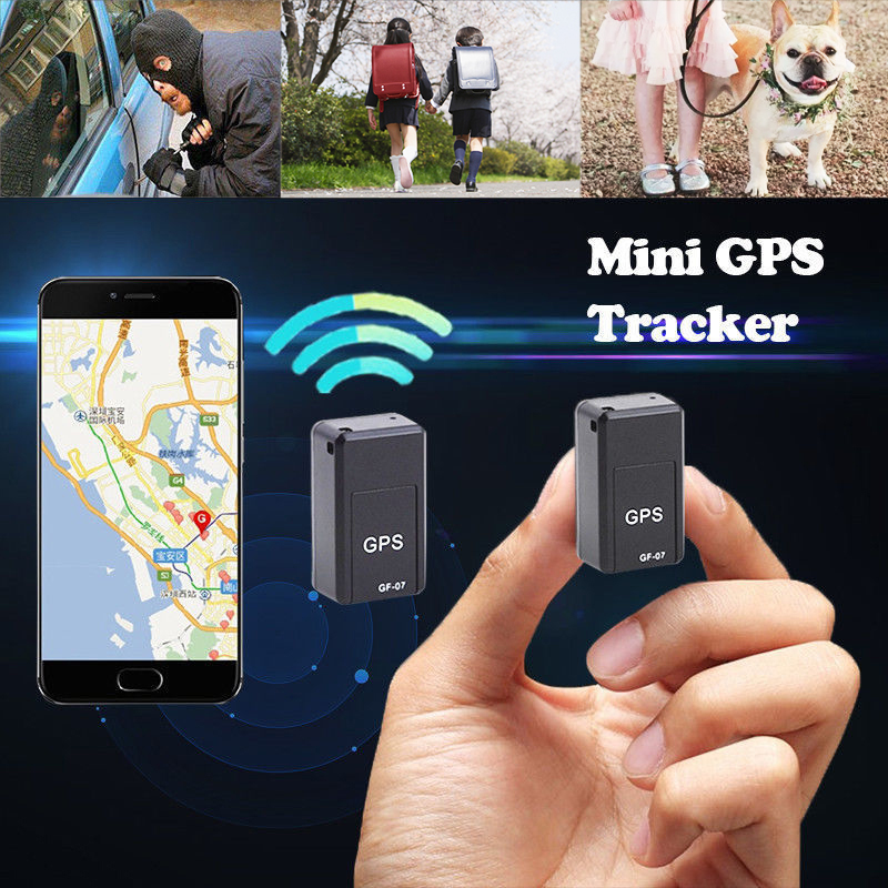Mini GPS Tracker Hide Magnetic Real Time Car GPS Locator Anti-theft Tracker GPS Anti-Lost Recording Tracking Device Voice Contro