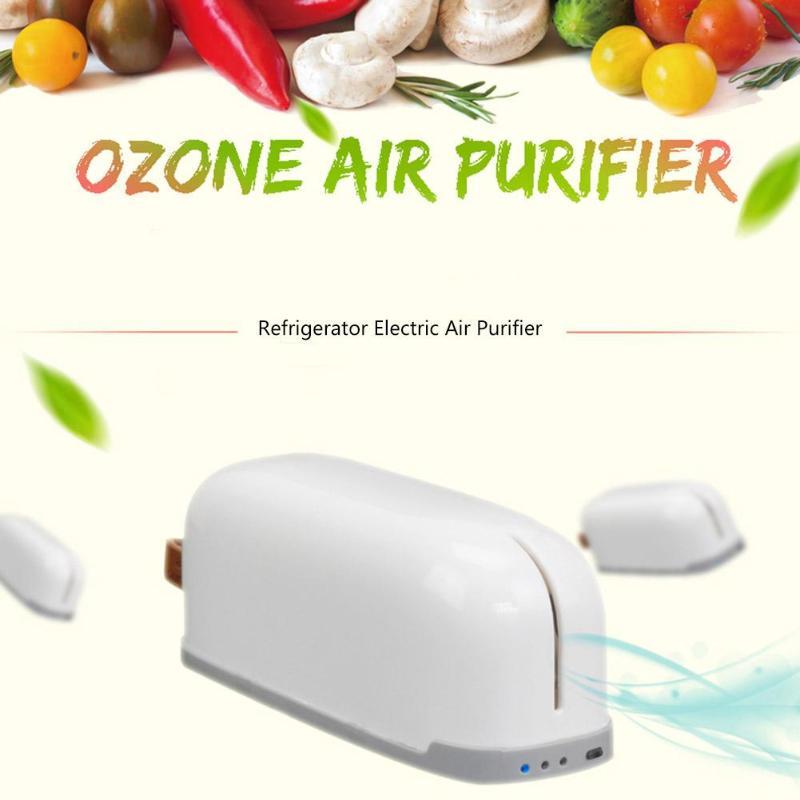 Luftreiniger Auto USB Kühlschrank Ozon Generator Frische Sichere Sterilisation Erweitert Erhaltung für Kühlschrank Lebensmittel Frisch-in Luftreiniger aus Haushaltsgeräte bei title=