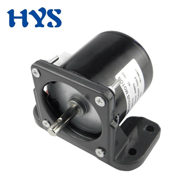 AC 220V 14W High Torque 50Hz Gear-Box 60KTYZ Synchronous GearMotor 2.5-110RPM