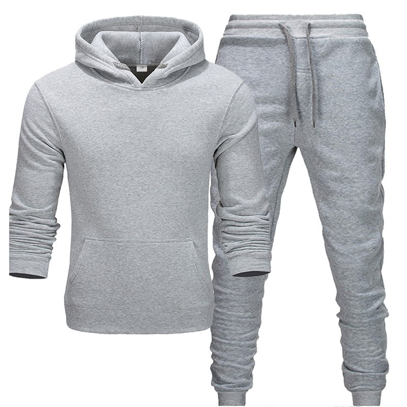 New hot brand men sweatshirt Tracksuit prints thermal underwear Men Sportswear Sets Fleece Thick hoodie+Pants Sporting Suit Male