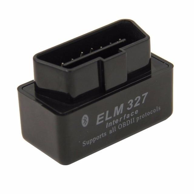 1pcs Super Mini Elm327 Bluetooth OBD2 V2.1 Elm 327 V 2.1 OBD 2 Car Diagnostic Tool Scanner Car Co de Reader