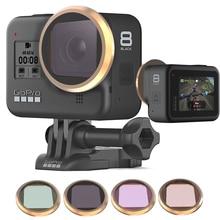 Multi layer Coating Lens Filter voor GoPro Hero 8 Zwart MCUV/CPL/ND4 8 16/Ster /15X Macro Filters voor gopro 8 Camera Accessoires