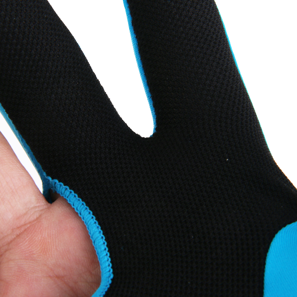 Non-slip Professional Spandex Three Finger Snooker Billiard Pool Cue Glove for Right Hand