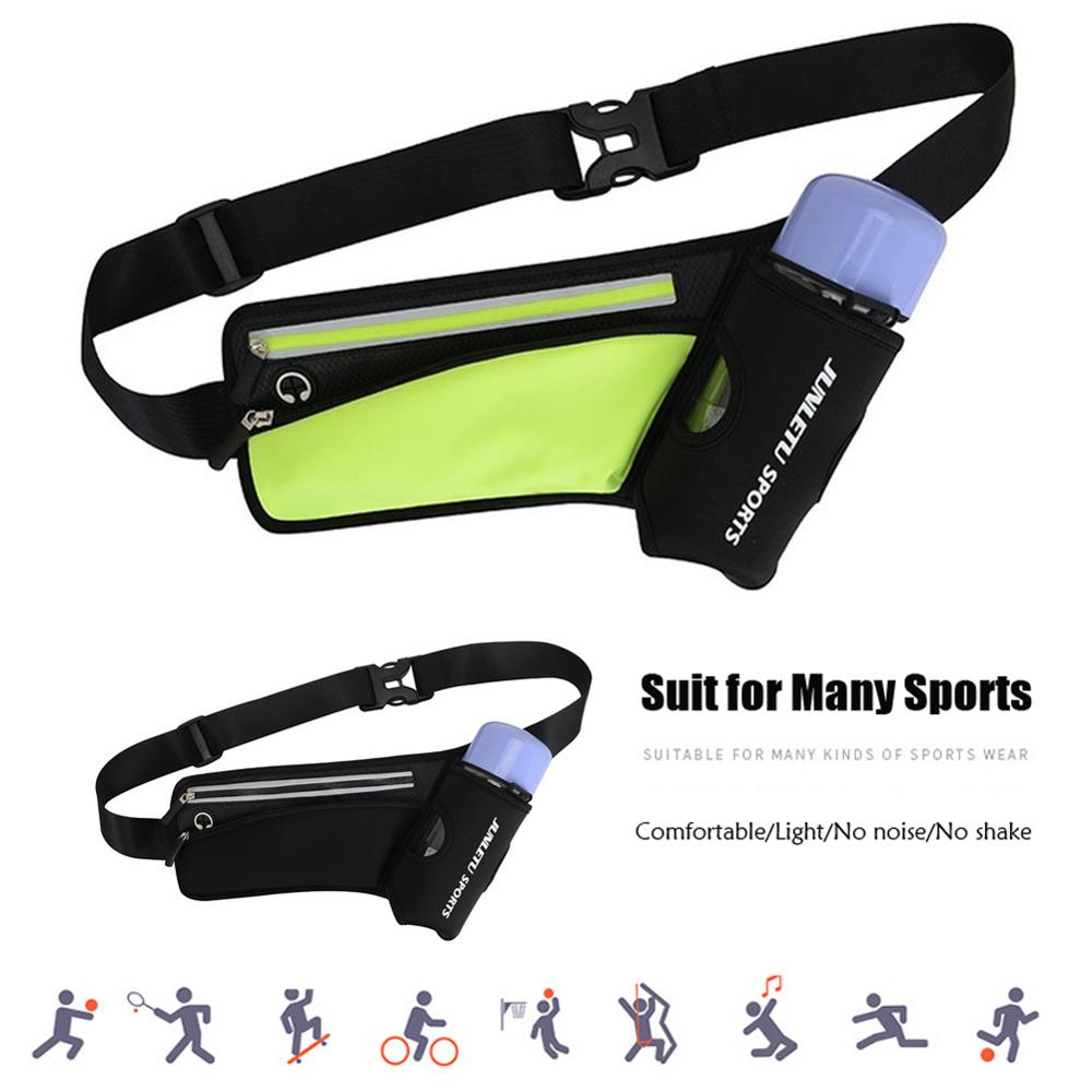 Bolsa da Cintura Garrafa de Água Leve Correndo Maratona Esportes Escalada Caminhadas Corrida Ginásio Fitness Hidratação Cinto Hip Cintura Pacote