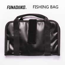 FUNADAIKO fishing tackle bag fishing bait bag metal jig lure fishing lure bag jigging bag