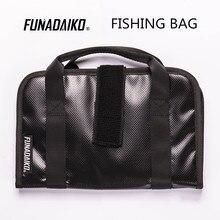 FUNADAIKO olta kutusu balıkçılık bait çanta metal jig cazibesi balıkçılık cazibesi çantası jig çantası