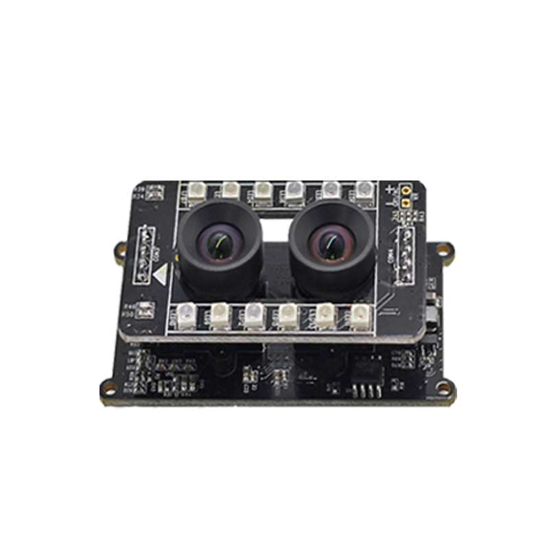 USB Interface Binocular Camera Module 2 Million HD Live Detection Face Recognition Visible Light Near Infrared