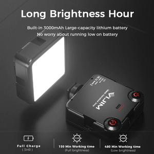 Image 4 - Ulanzi 96 DSLR LED 비디오 빛 카메라 사진 스튜디오 조명 뜨거운 신발 LED 블로그 채우기 빛 램프 스마트 폰 DSLR SLR 카메라