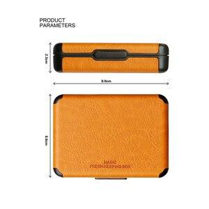 Image 3 - Caja de cigarrillos antipolvo portátil, Ultra delgada, para regalo, fundas de cigarrillos para fumar, para Lili, Estuche de transporte